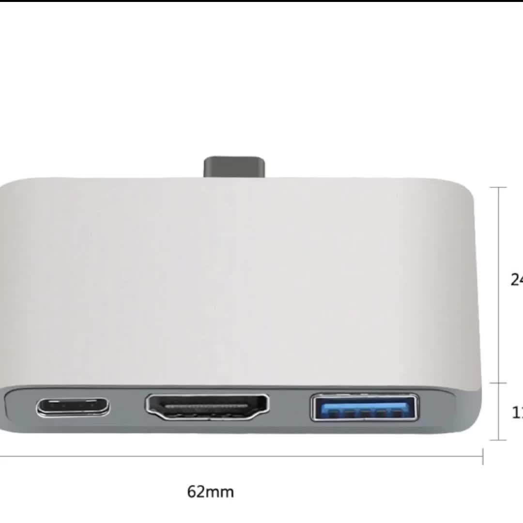 USB C Hub to hdmi support Dex Mode 대 한 Samsung S8/S9 와 PD 벼락 3 어댑터 대 한 Macbook pro Type-C