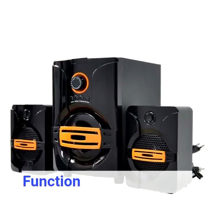Multimedia Radio USB SD Bluetooth 2.1 Home Music Theatre System with 4inch Woofer