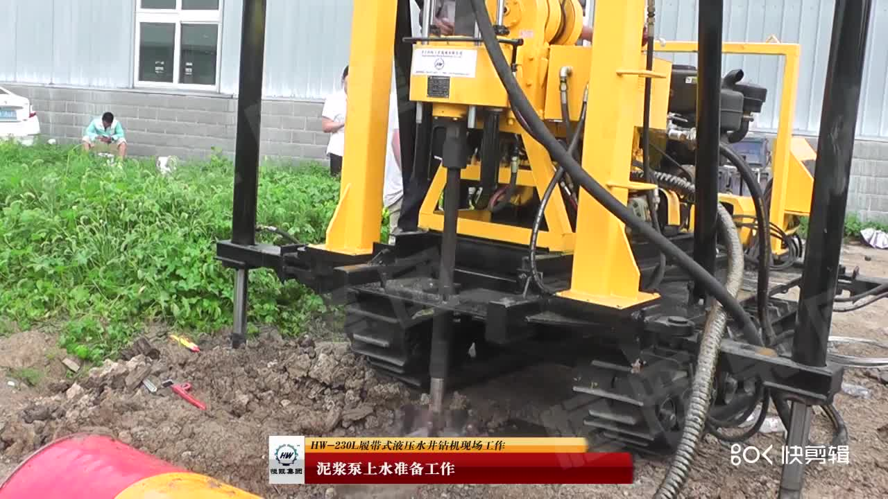 small 100m, 200m,1000m deep Good water well drilling rig machine price, Borehole core Drilling Machine for Sale