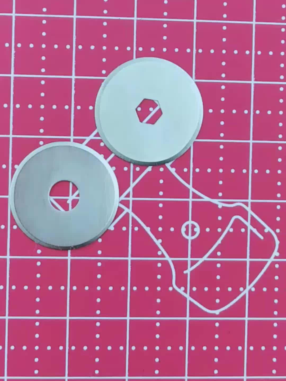 紙切断ロータリーカッター 18 ミリメートルブレード低価格