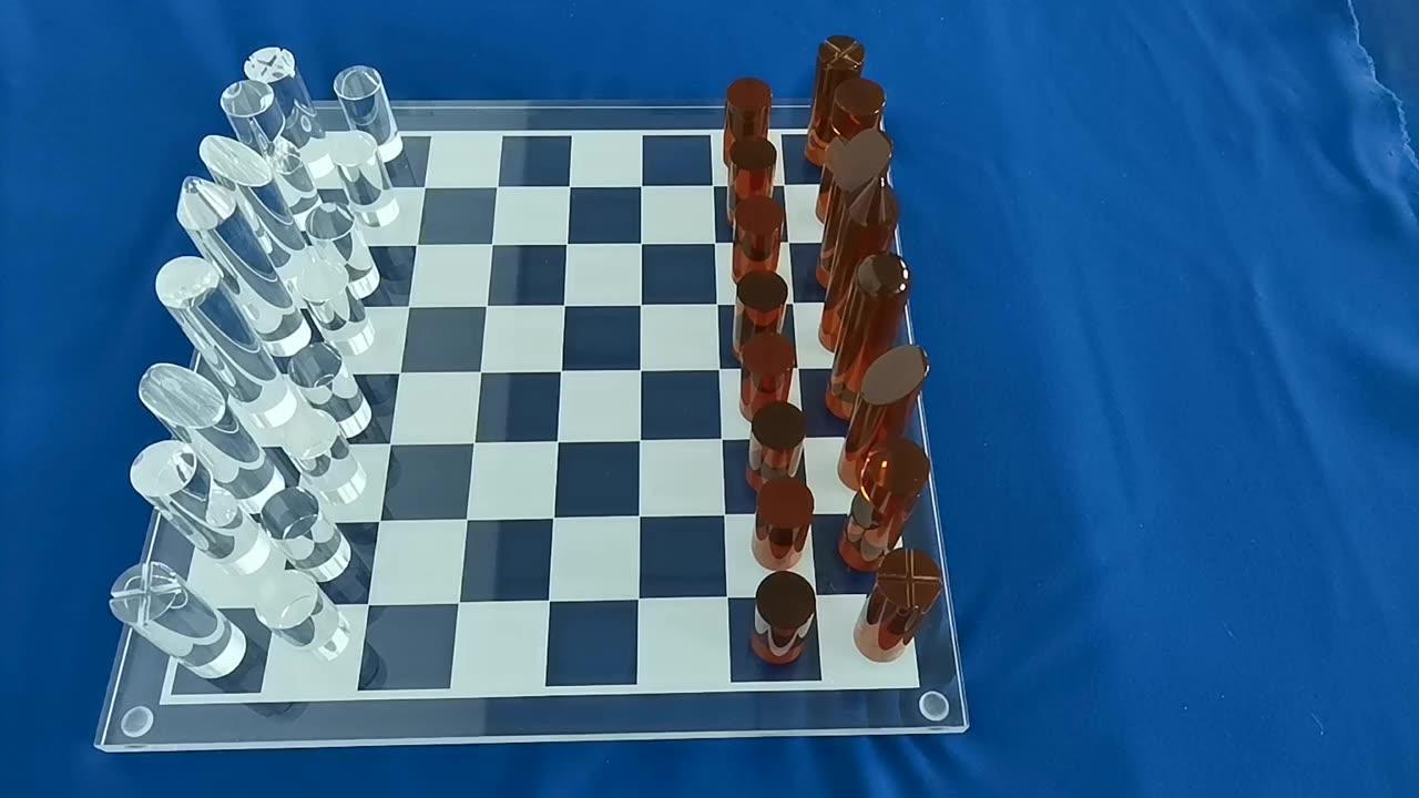 Custom Acrylic Chess Set Lucite Board Game Sets Acrylic Checker