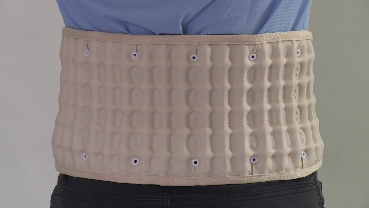 Back support FOR Lumbar traction, Lumbar support belt