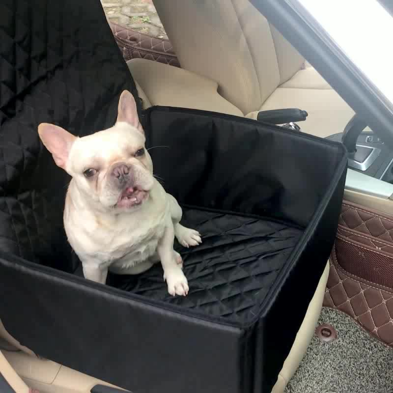 900D Oxford Deluxe Voorstoel Hond Pet Car Seat Cover