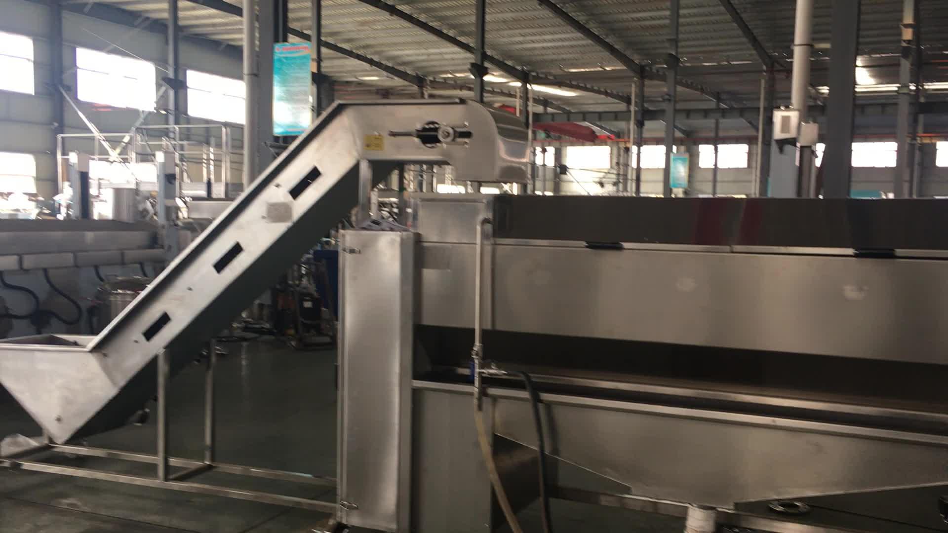 Automatic Large Capacity Potato Taro Washing Peeling Machine