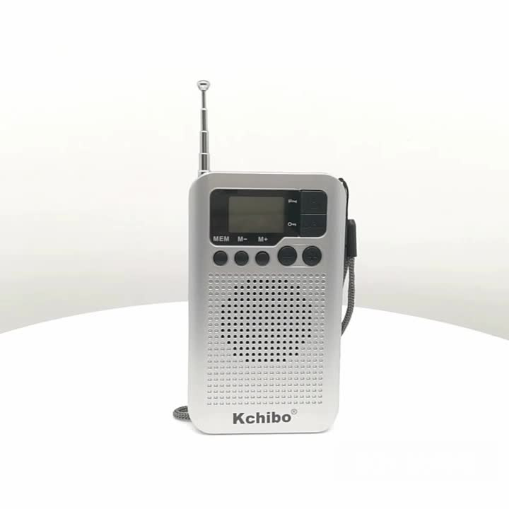 Produsen Profesional 2 Band FM Am Digital Portable Kchibo Radio