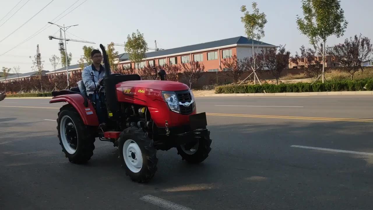 30hp 4wd huaxia chinesischen mini traktoren mit frontlader rotary tiller für verkauf
