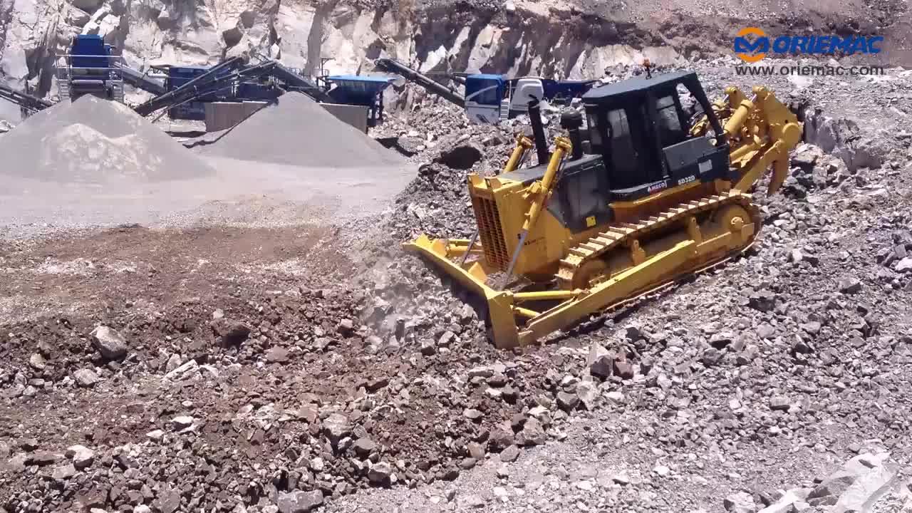 Sử Dụng Rộng Rãi Xe Ủi Đất Shantui Mini Xe Ủi Đất Giá SD16 160HP Xe Ủi Đất