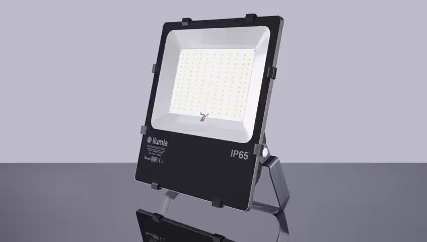 Ready to ship 5000K IP65 Waterproof 150W Outdoor LED Flood Light With 130LM/W