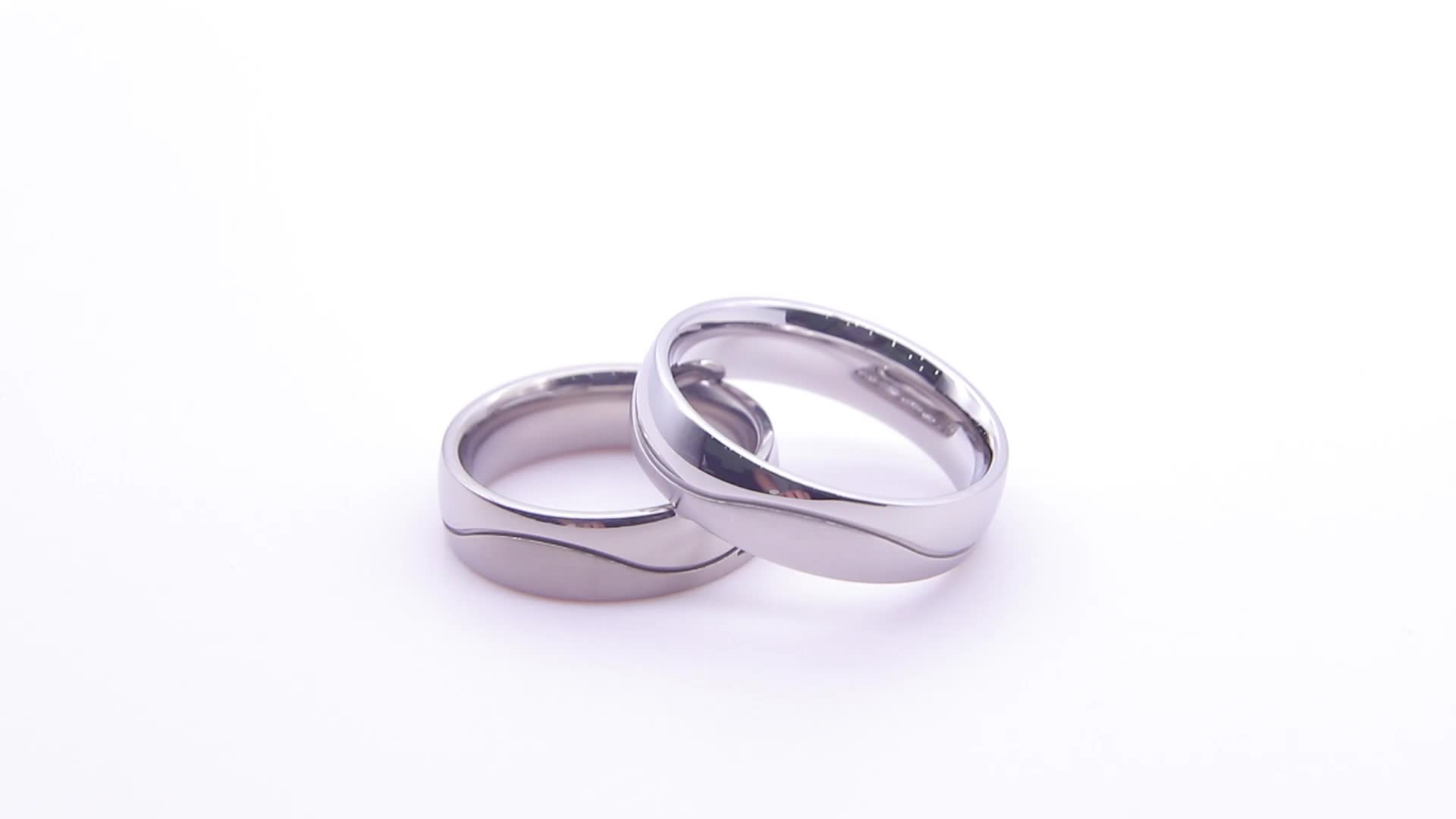 High quality Plating white gold jewelry 925 sterling silver jewelry  wedding rings for women man