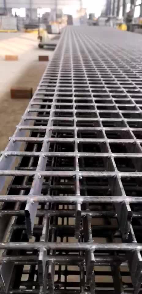 Factory Price Q235 25mm 30mm 32mm 40mm Building Materials Galvanized Steel Grating For Platform