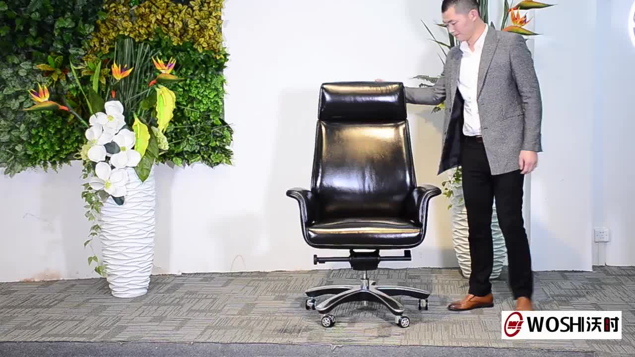 commercial furniture leather swivel office chair