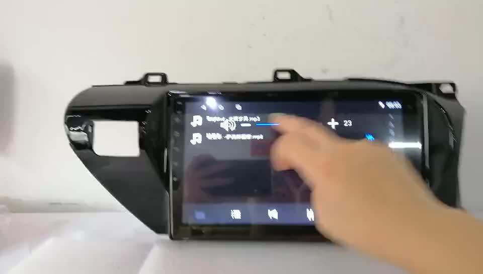 Système de Navigation Radio GPS Android de voiture pour unité principale Toyota AVENSIS 2009-2013 avec WIFI