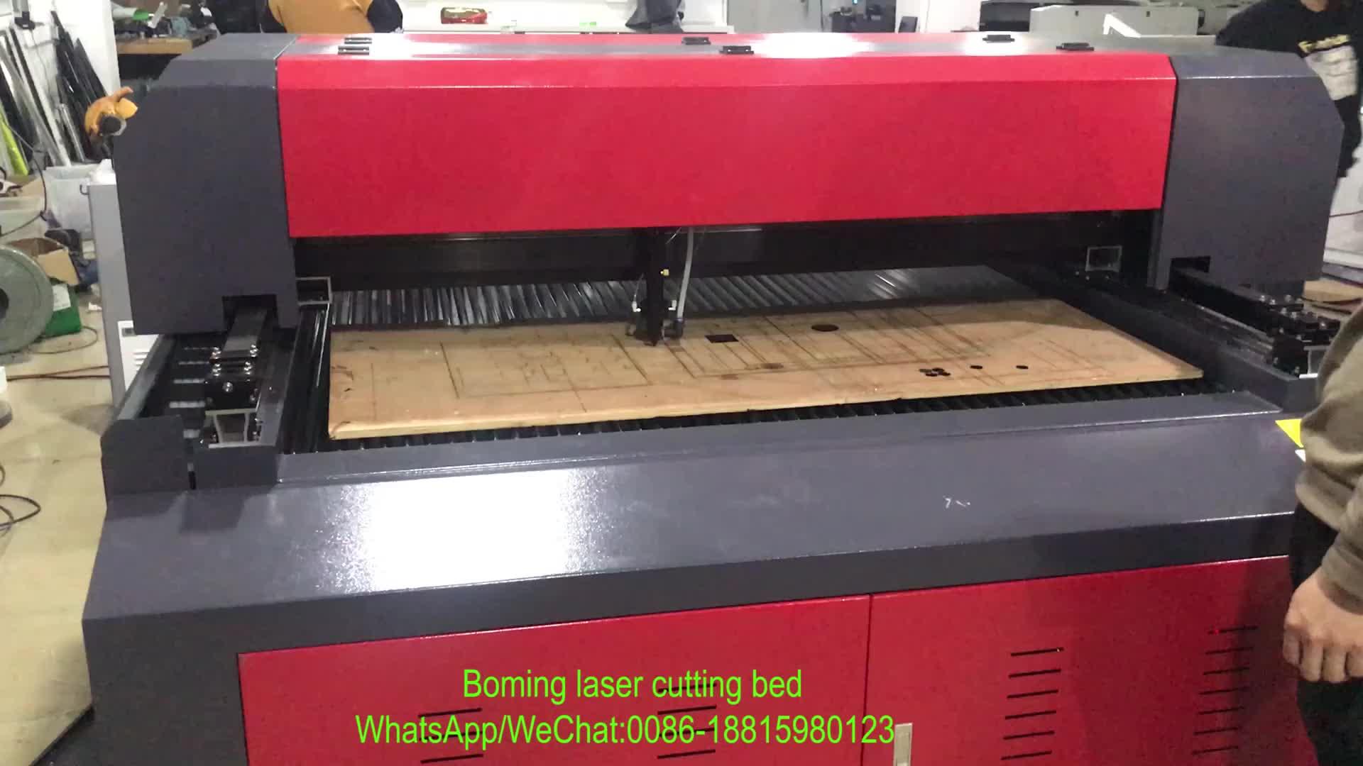 中国の工場 150 ワット 300 ワット 450 ワット 600 ワット cnc co2 1390 1325 レーザーカット機合板