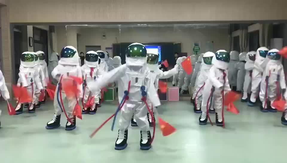 Funtoys CE traje espacial astronauta mascota traje