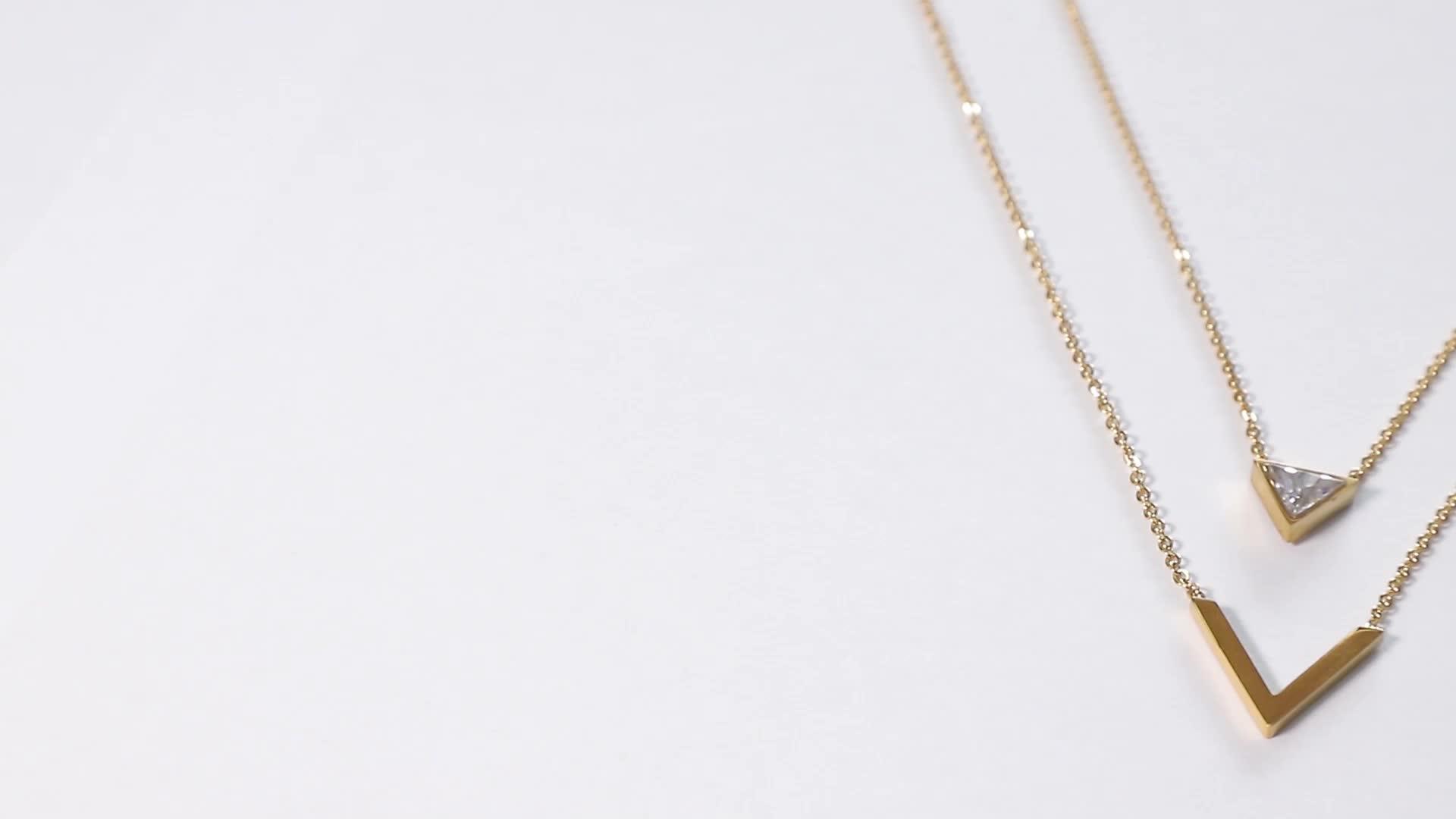 OEM/ODM 925 sterling silver custom necklace jewelry 대 한 웨딩