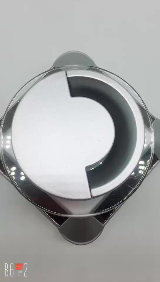Table hole cover round ABS plastic cable grommet for computer desk