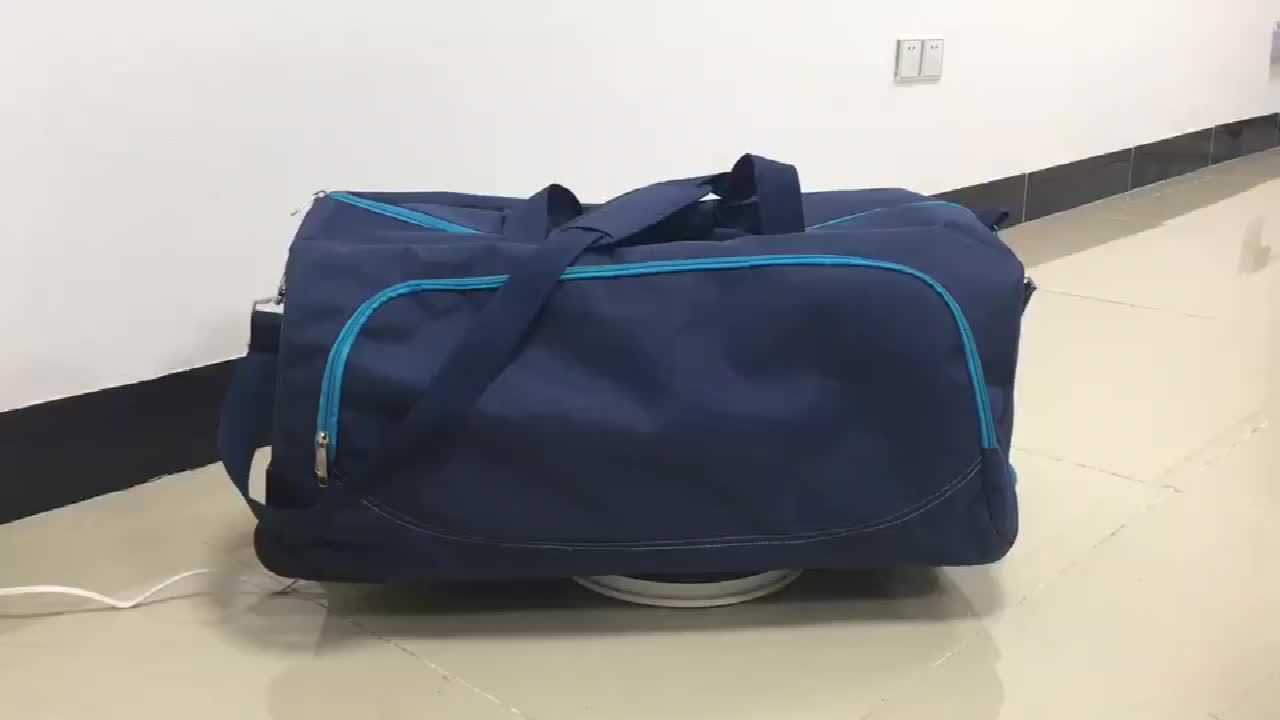 Promotion cities lightweight wheeled travel bag, rolling carry on bags