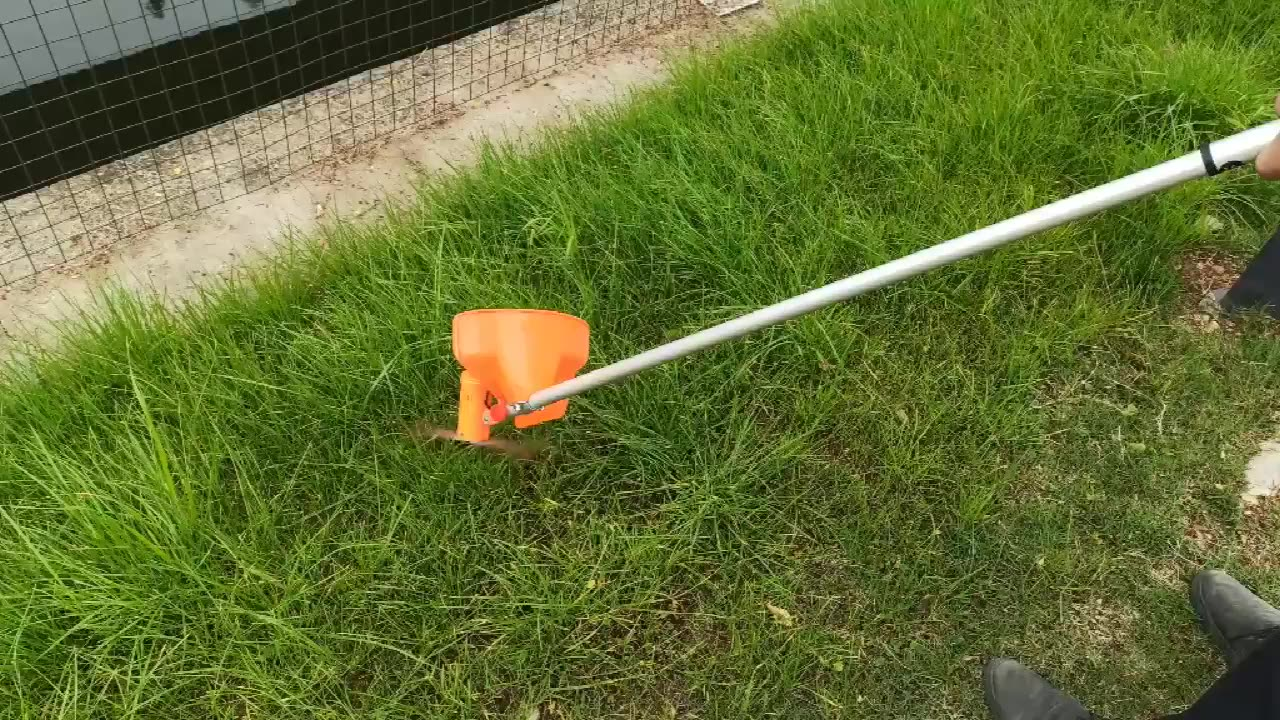 China maker lithium electric dc motor grass trimmer battery brush cutter Battery lawn mower