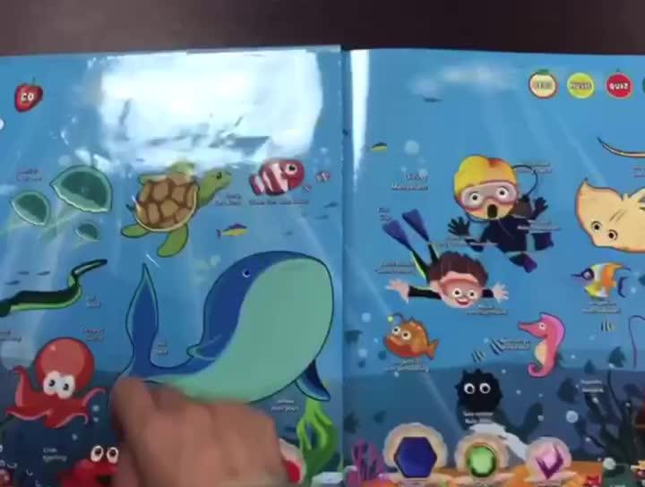 Crianças colorir história livros De Papelão De Papel de impressão personalizada Livro de bordo impressão de livros de arte