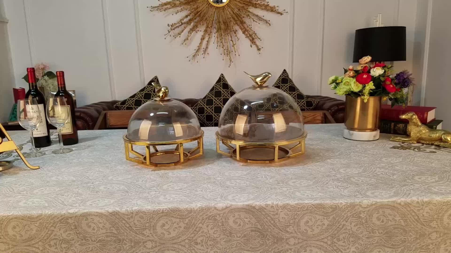 زهريات ديكور زجاجية للمنزل منضدة حديثة تحف الزفاف ديكور المزهريات كعكة الحلوى عرض موقف