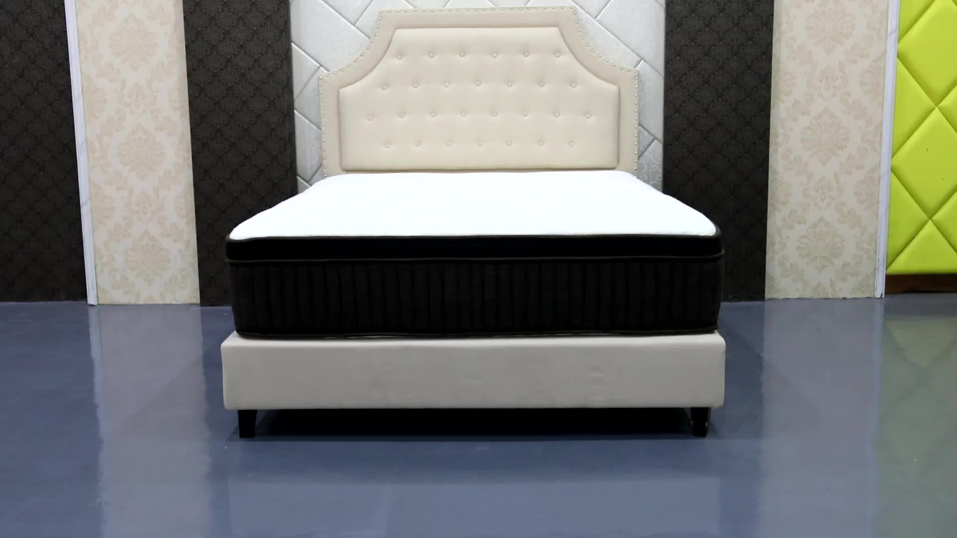 Diglant ke-974 Angel Dreams Superior Support Compressed Hotel Bonnell Inner Spring Coconut Coir Bed Mattress