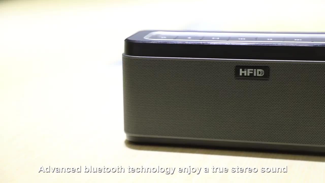 maxx bass sound DSP bluetooth wireless outdoor soundbar speaker