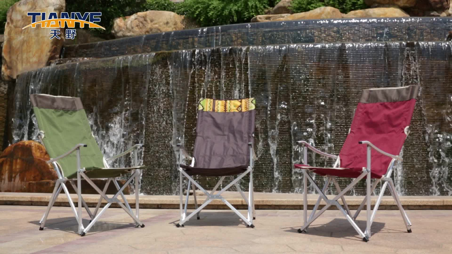 Tianye metal Outdoor metal furniture  relax Picnic Fishing Folding camping chair