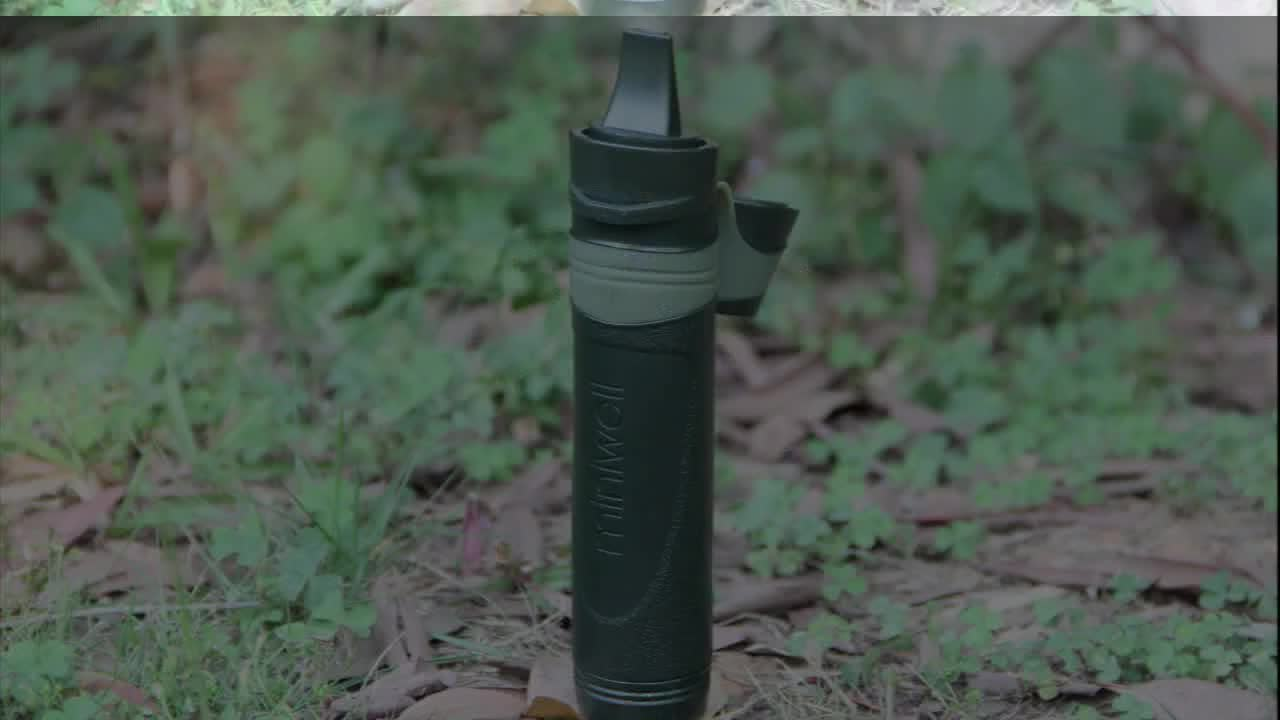 2017 new product innovative personal water filter for outfitter