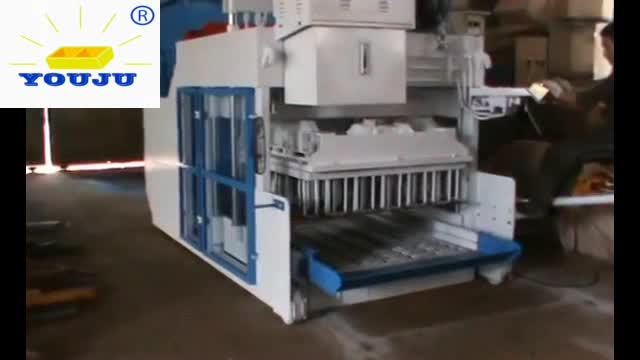 QMY18-15 automatic concrete cement brick block laying machines