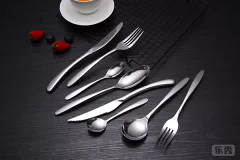 Western Style SS304 Kitchen Cutlery for Household&Hotel&Restaurant