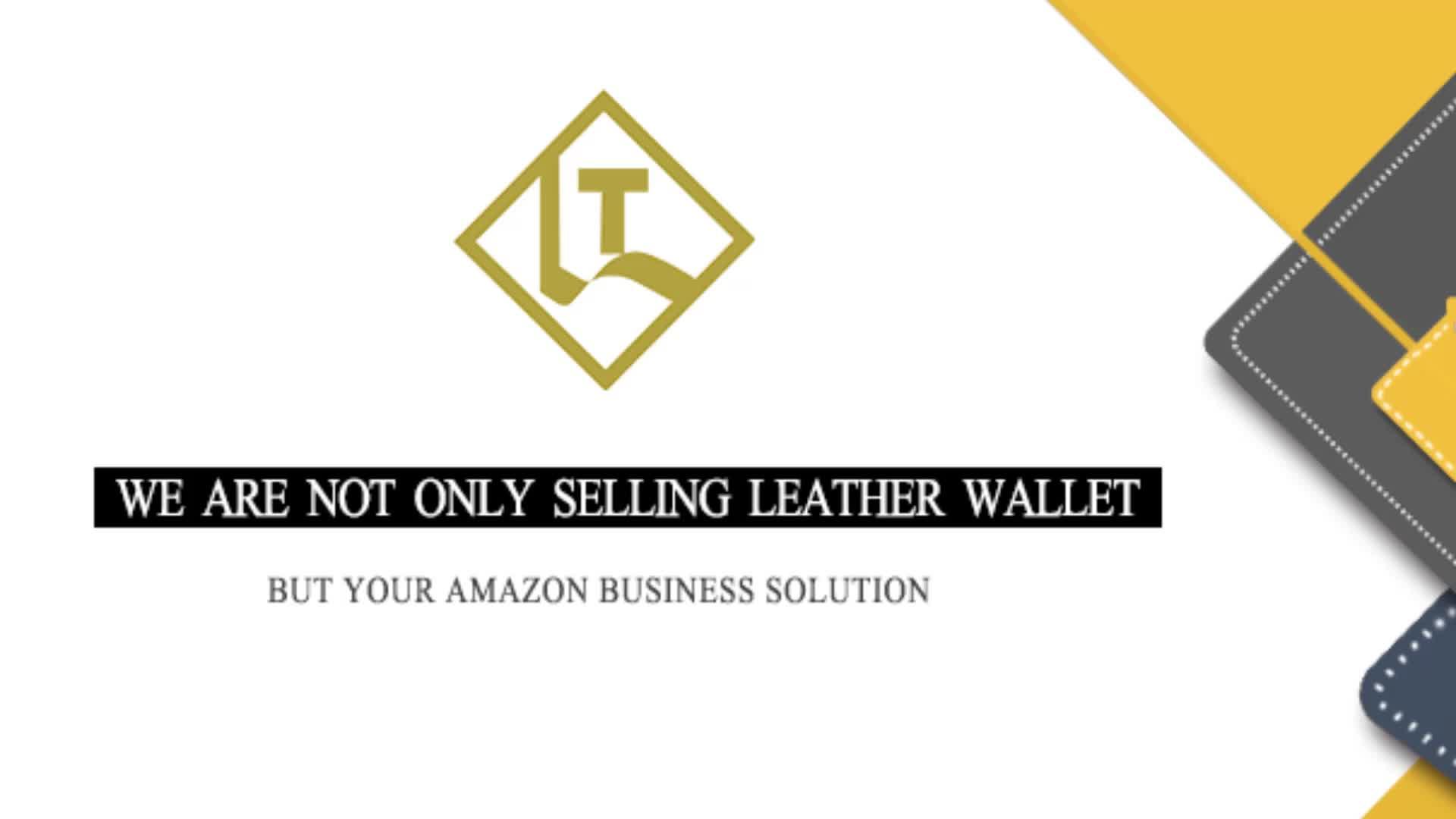 OEM/ODM RFID blocking card holder handmade slim ultra thin small money clip bifold genuine leather full grain rfid wallet