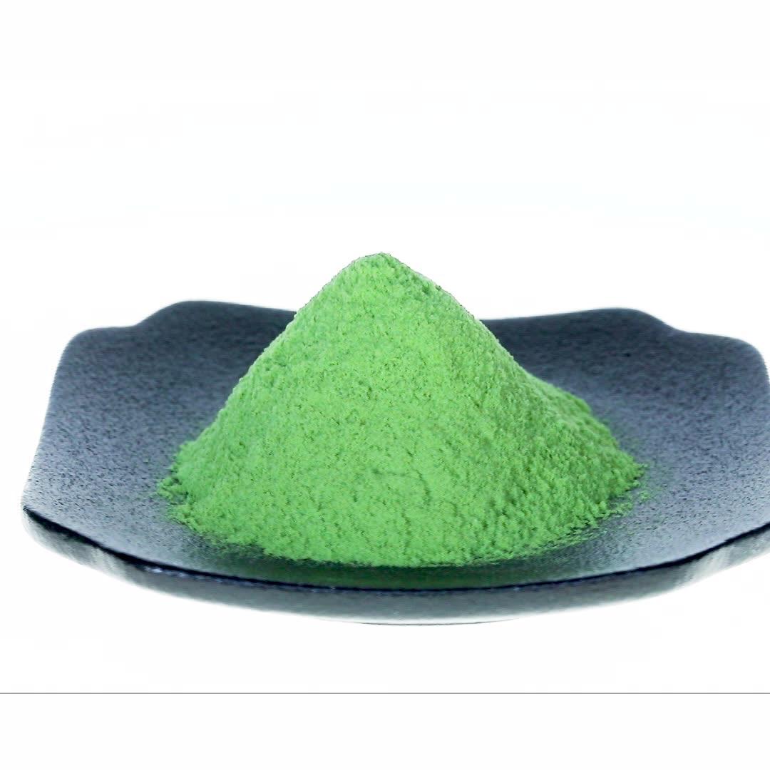 Instent acqua- souble e completamente solubile in polvere di foglie di moringa