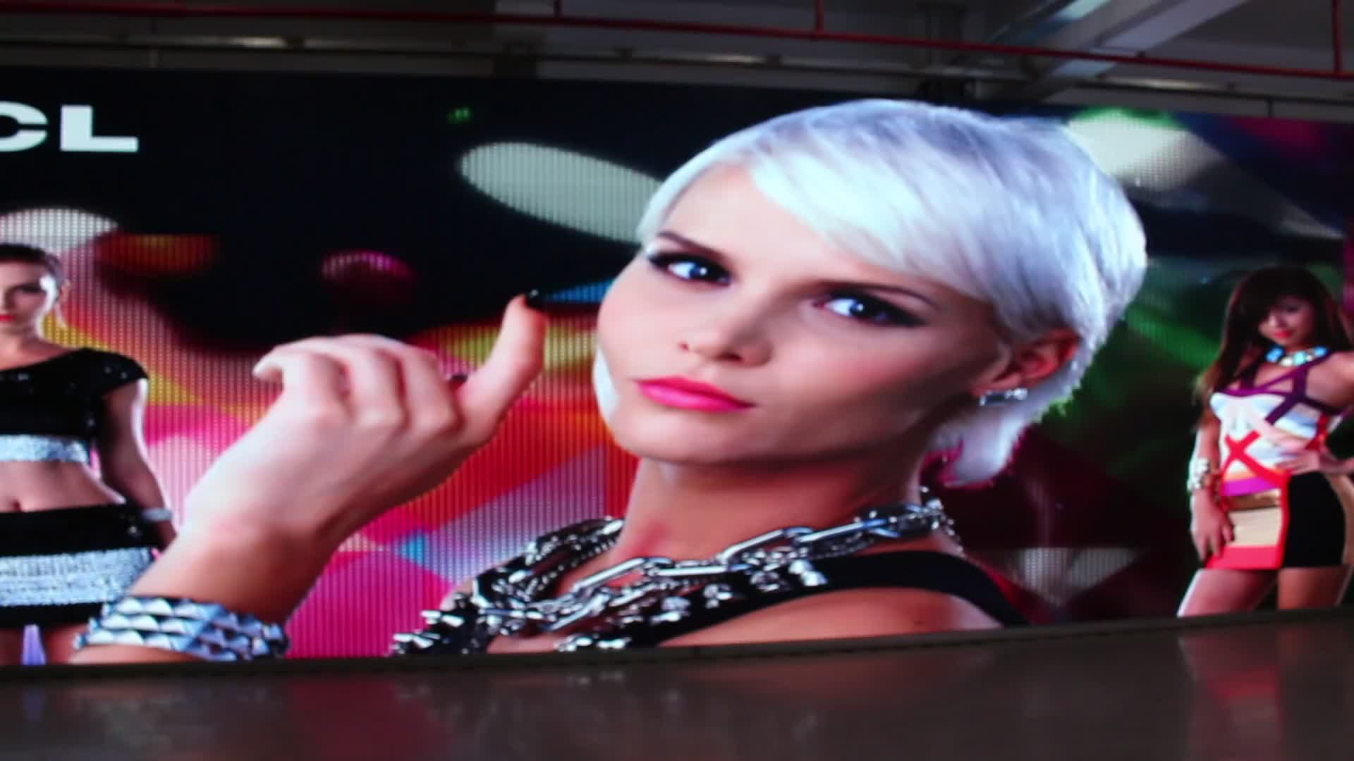 Alibaba express wholesale outdoor video wall advertising full color p6 led display screen