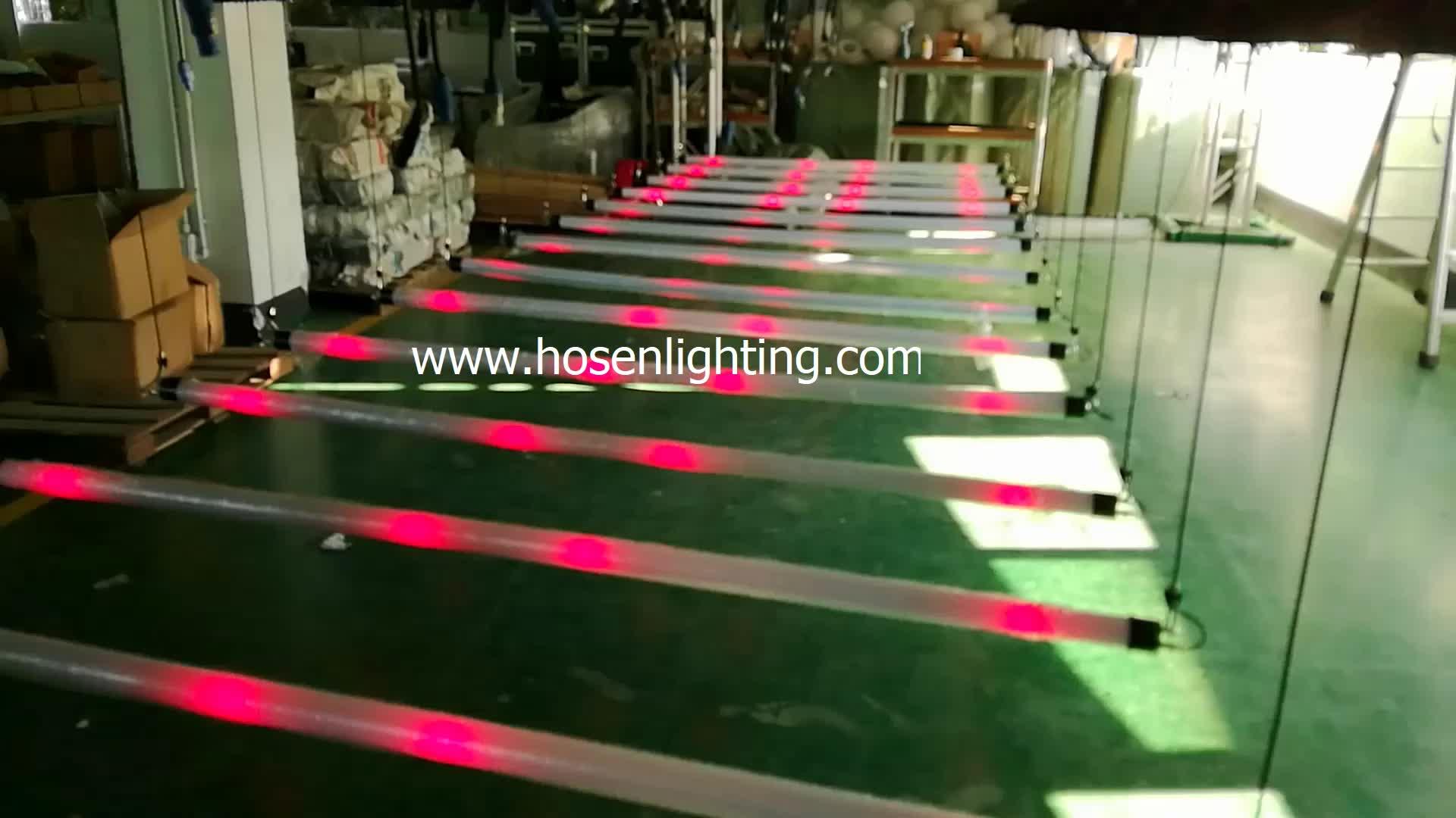 kinetic lighting system dmx winch  led tube kinetic light