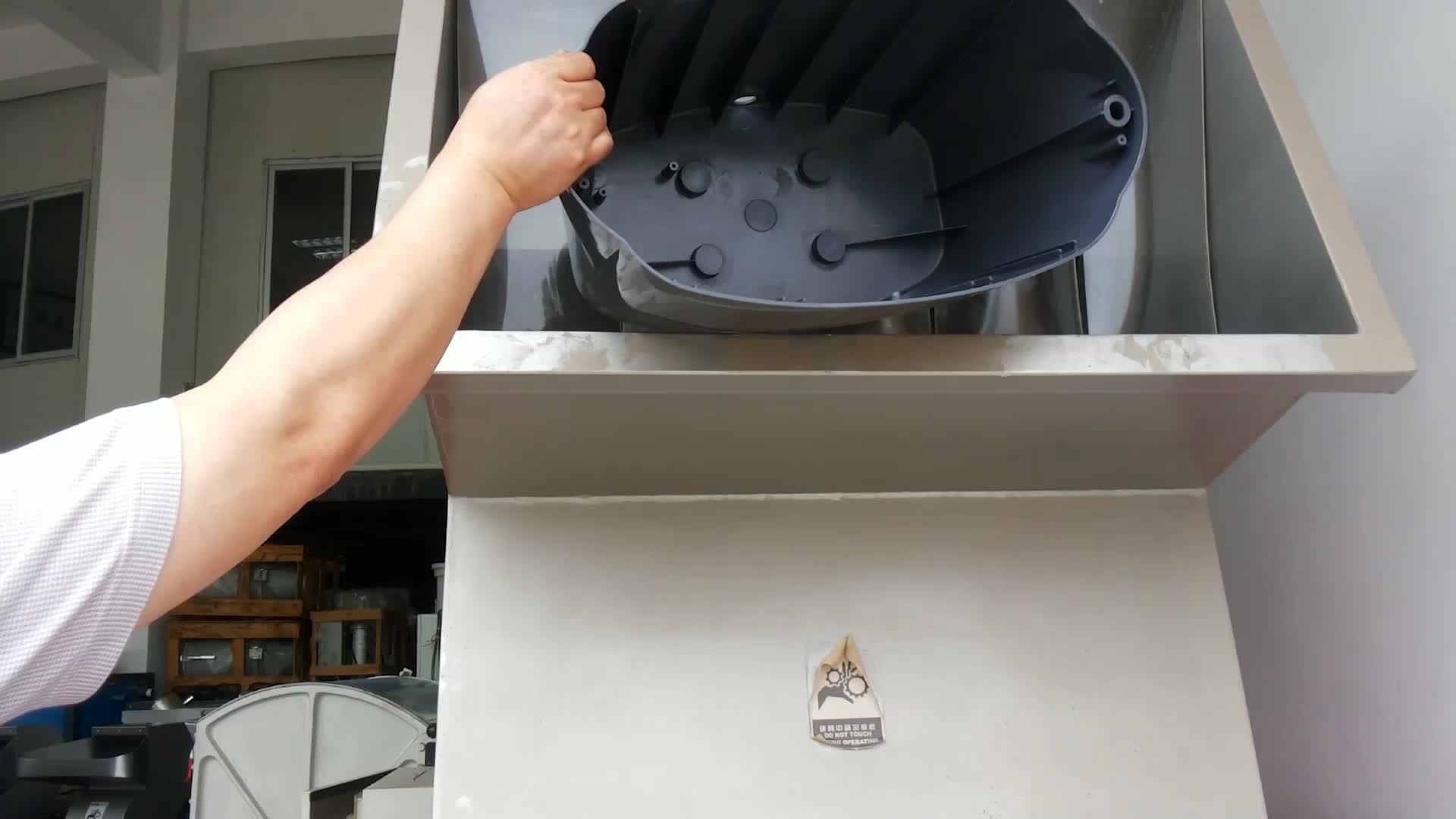 Mini 5HP casa di plastica trituratore macchina bottiglia in pet eseguire rottami frantoio di plastica trituratore portatile