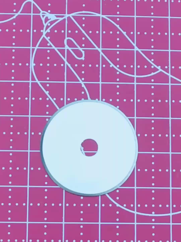 ホット販売 28 ミリメートルロータリーカッター刃から NECKLY
