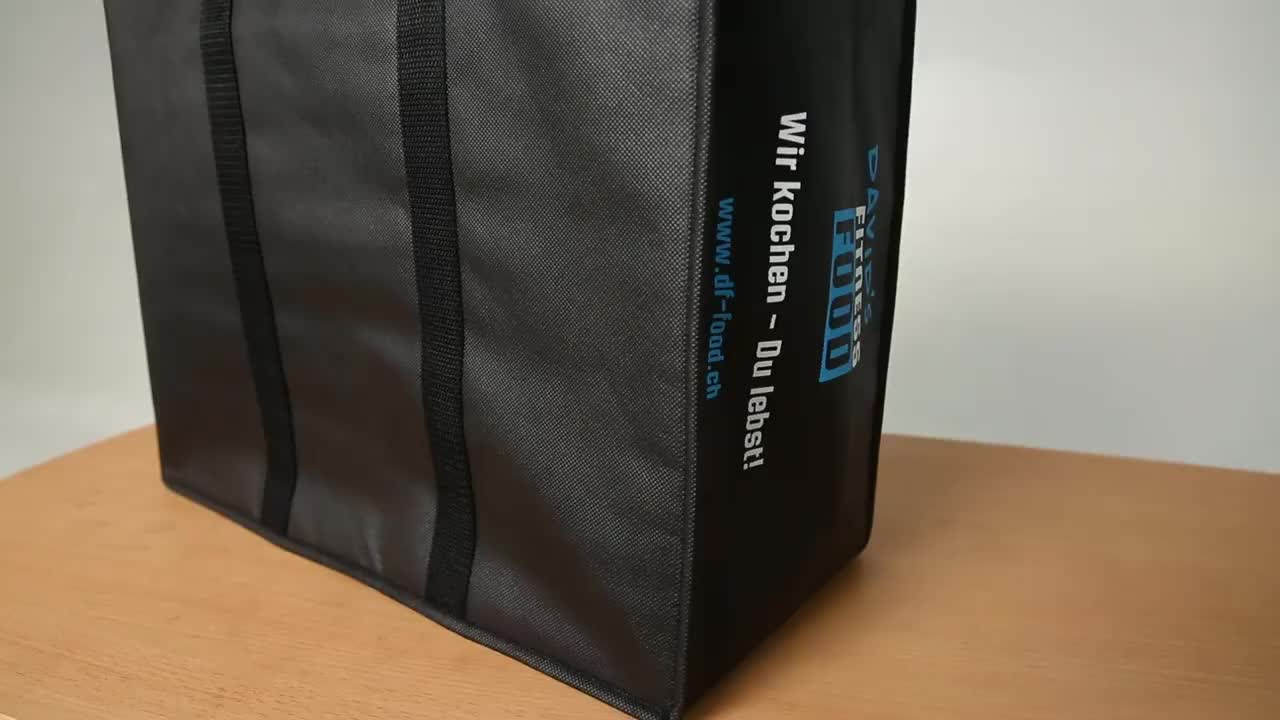Promotional New Design Deluxe Insulated Waterproof Food Cooler Tote Lunch Box Bags