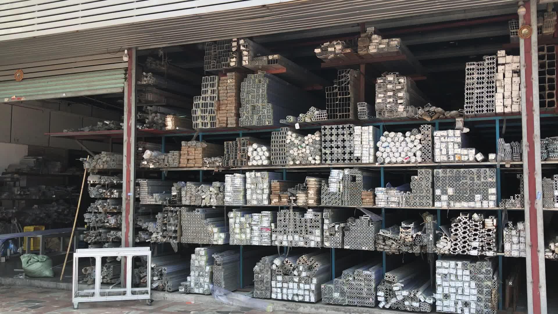 Extrusão de alumínio V Slot Para Slot de T 2020 2040 4040 V-Slot Para Cerca De Segurança/3D Impressora Trilho Linear