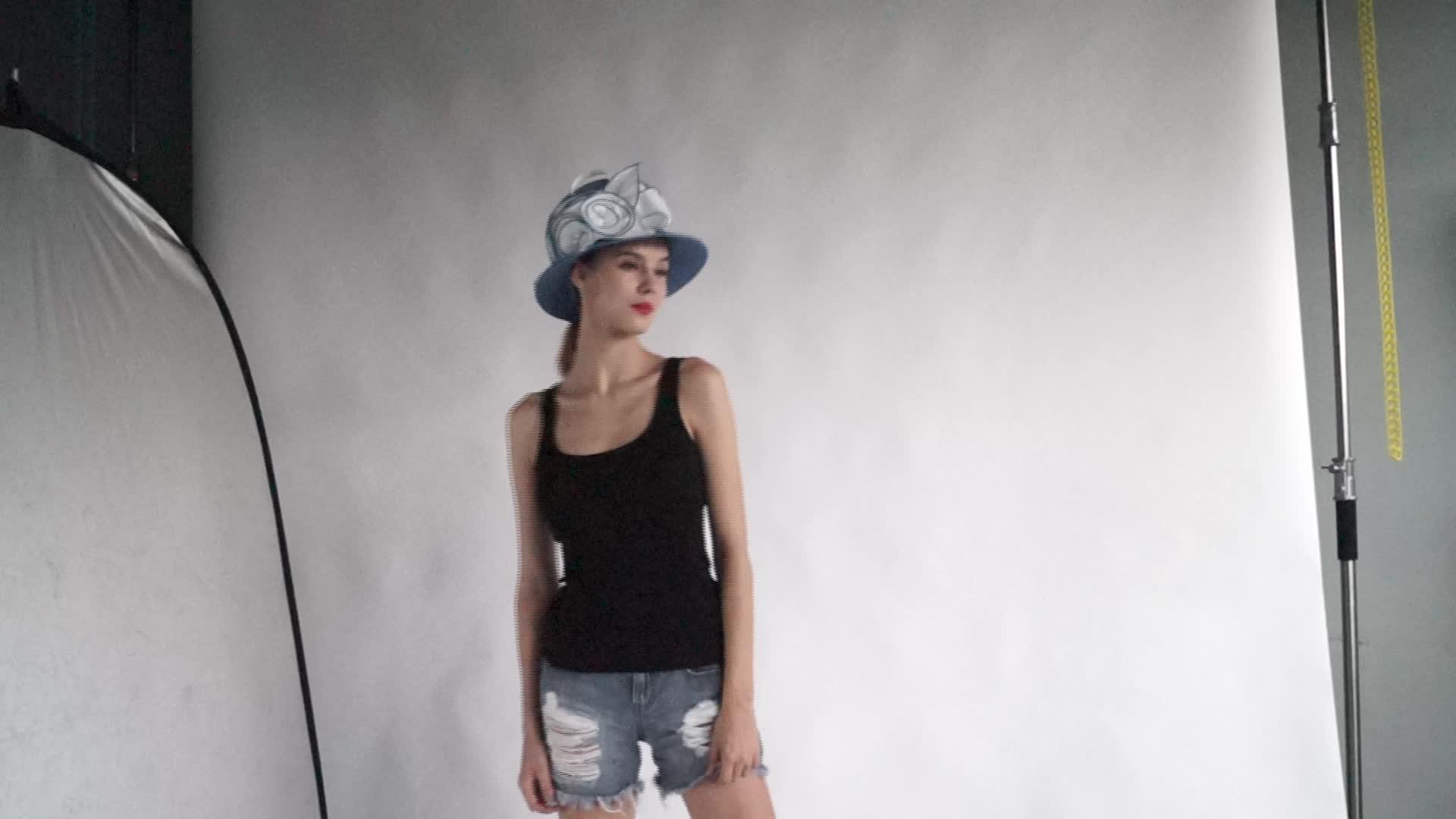 Fournisseurs de Chapeau en gros À La Mode Robe D'été chapeau