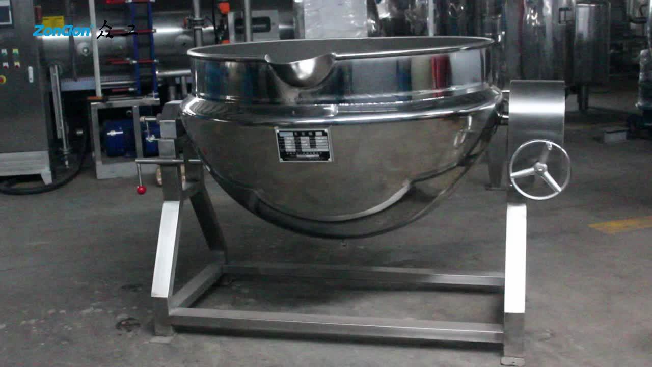 Industriële waterkoker fornuizen turkse waterkoker jacketed ketel met stirrer