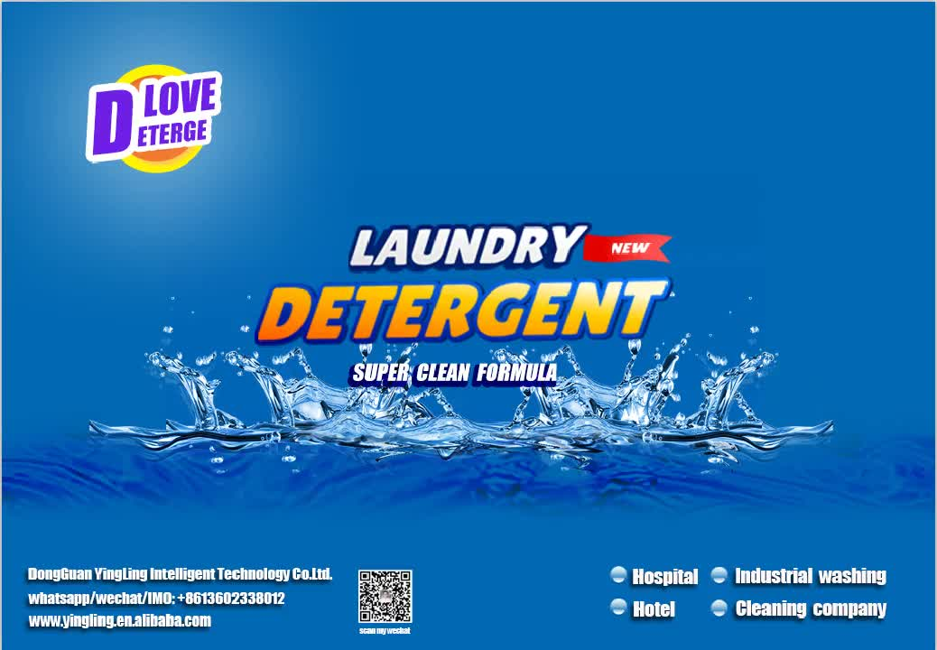 Hospital Hotel Fast Cleaning Blood Off Laundry Powder /  Remove Blood Stains Washing Detergent