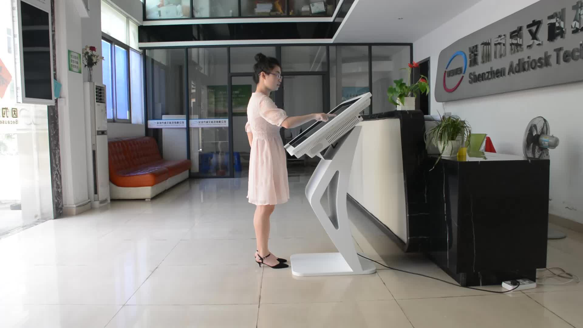 """2017 ! New! 55"""" Big Screen IR Infrared Touch Screen LCD Android interactive touch table"""