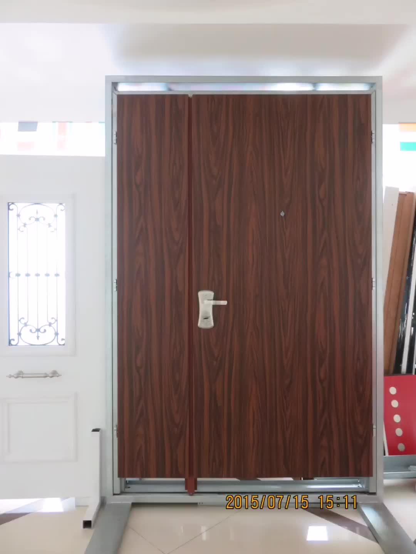 2 Panel PU Metal Door , Stanley Door