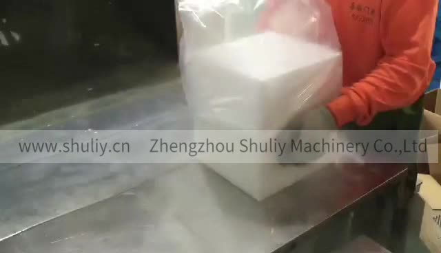 Shuliy 500kg/day used concrete mini dry ice block maker machine ice maker for sale