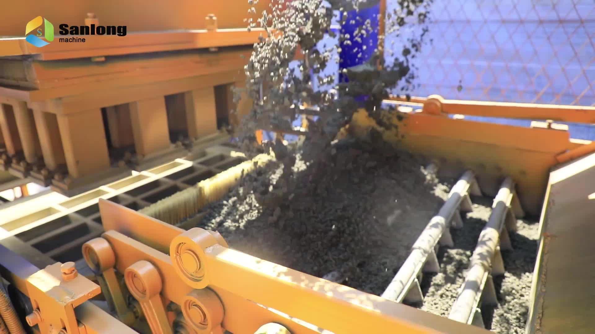 QTY7-15 multifunction automatic color paver concrete block making machine