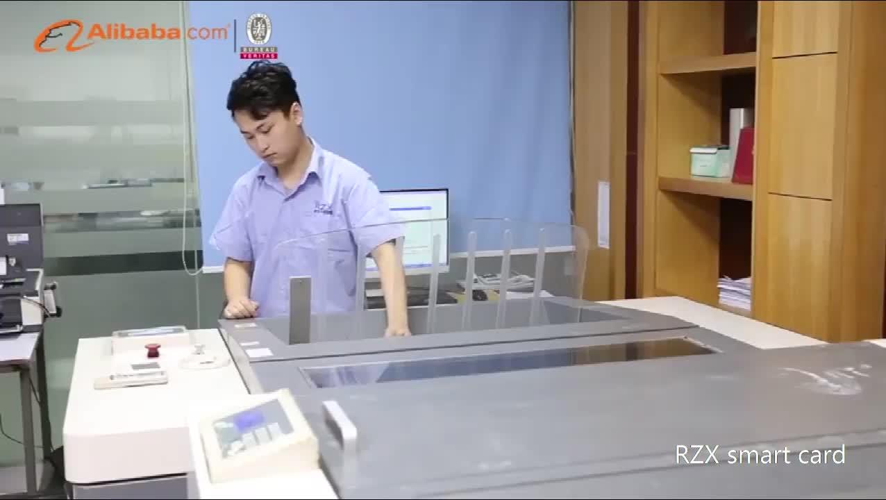 深センメーカー 4 カラー印刷 pvc 抽選スクラッチカード