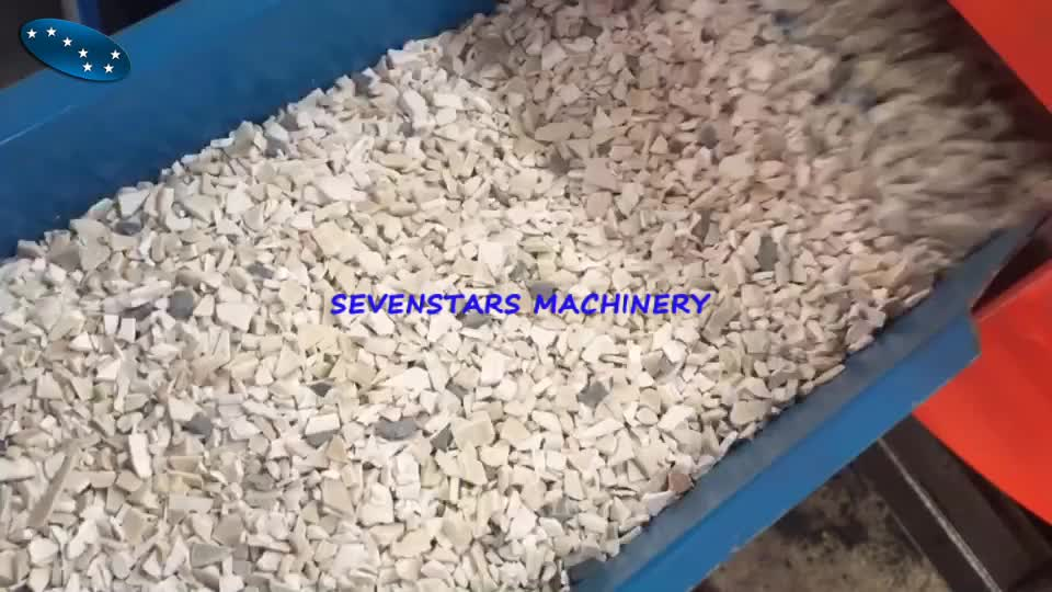 Automatic PE PP ABS LDPE LLDPE PET High Speed Plastic Pulverizer Machine  Pulverizer Mill PVC Pulverizer for Pipe Profile Power