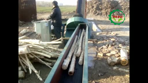 Agricultural Machinery Disc Type Self Feeding Wood Chipper Made In China