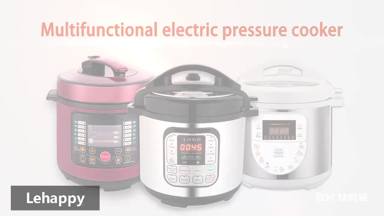High quality as seen on tv 2018 home appliance kitchen  appliances multi electric pressure cooker in factory price