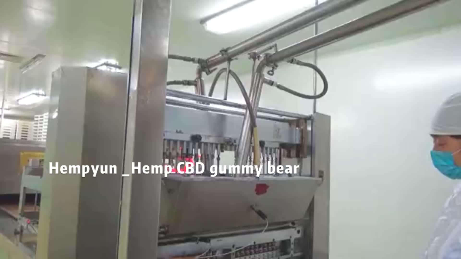 100% Alami & Aman Menghilangkan Rasa Sakit CBD Rami Gummies Premium Ekstrak Herbal Rasa Sakit, Stres dan Kecemasan Relief